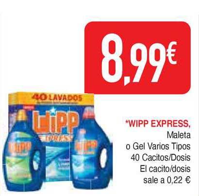 Masymas Wipp Express Maleta O Gel