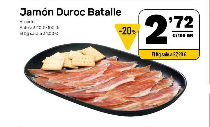 AhorraMas Jamón Duroc Batalle