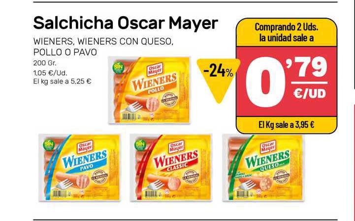 AhorraMas Salchicha Oscar Mayer