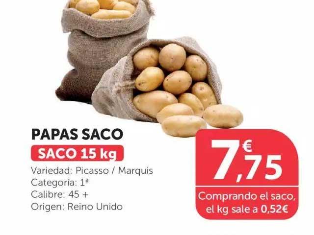 SPAR Papas Saco 15kg