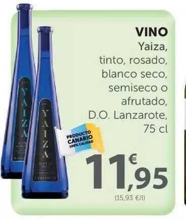 SPAR Vino Yaiza, 75 Cl