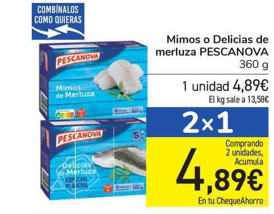 Carrefour Mimos O Delicias De Merluza Pescanova