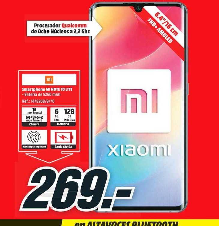 MediaMarkt MI Xiaomi Smartphone MI Note 10 Lite