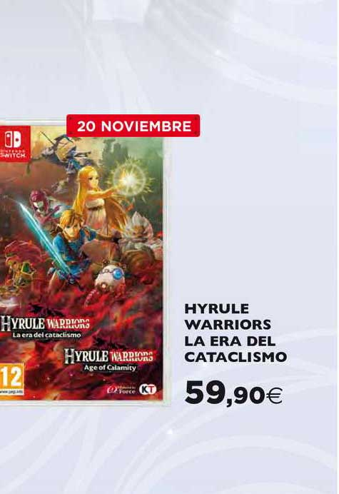 Hipercor Hyrule Warriors La Era Del Cataclismo