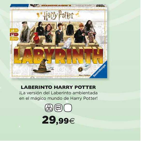 Hipercor Laberinto Harry Potter