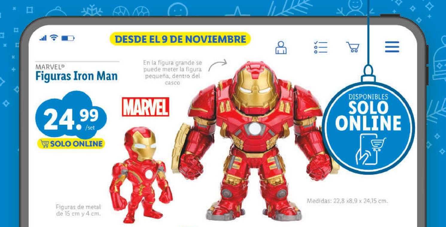 LIDL Marvel Figuras Iron Man