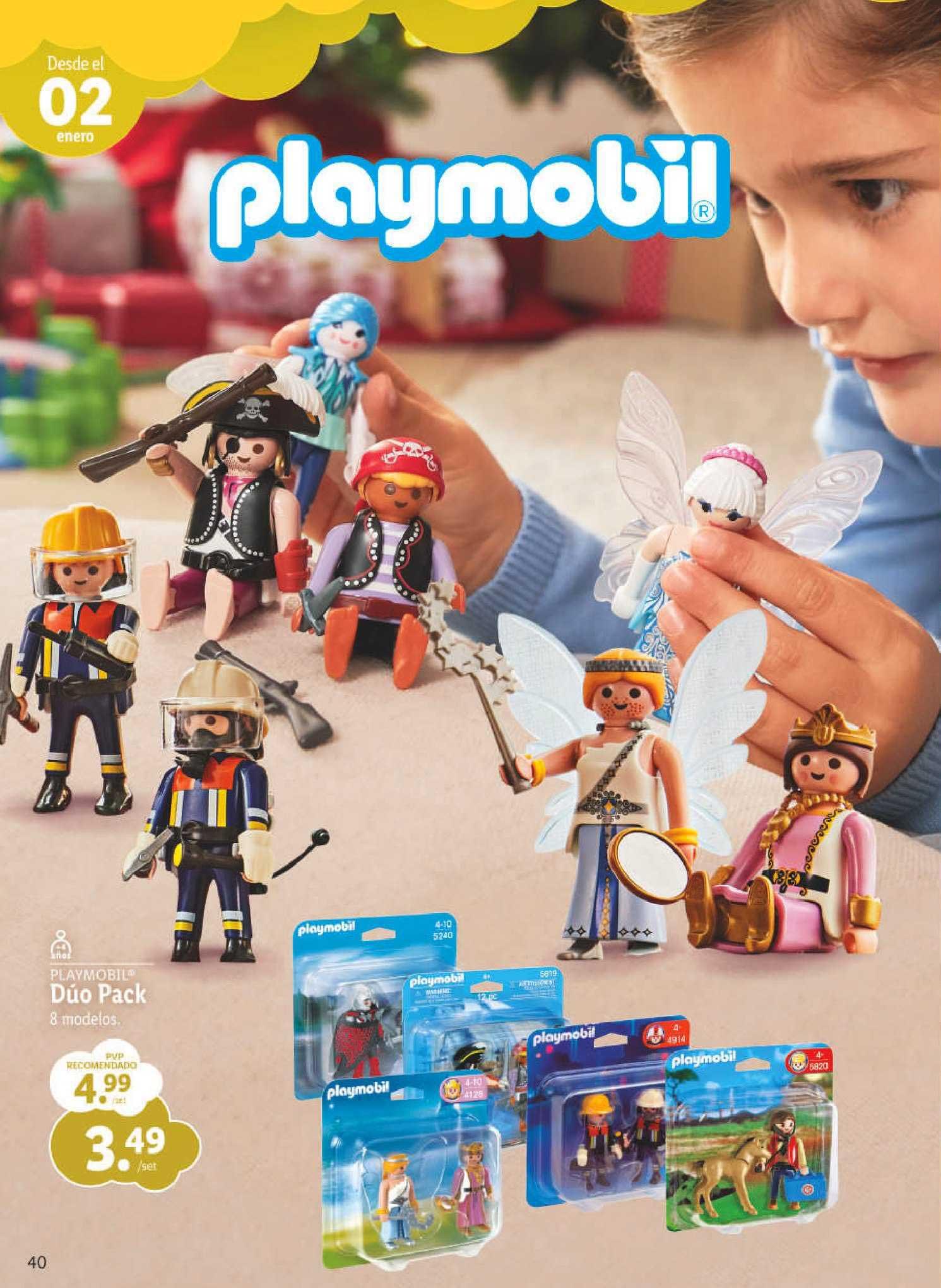 LIDL Playmobil Dúo Pack