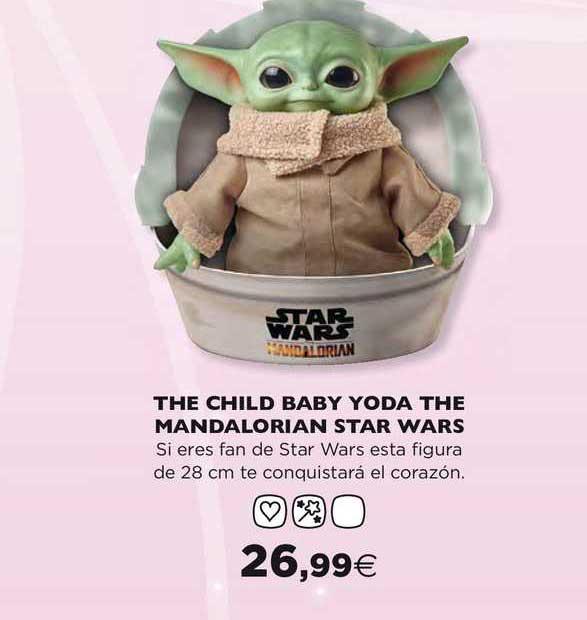Hipercor The Child Baby Yoda The Mandalorian Star Wars