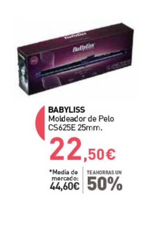 Primaprix Te Ahorras Un 50% Babyliss Moldeador De Pelo Cs625e 25mm