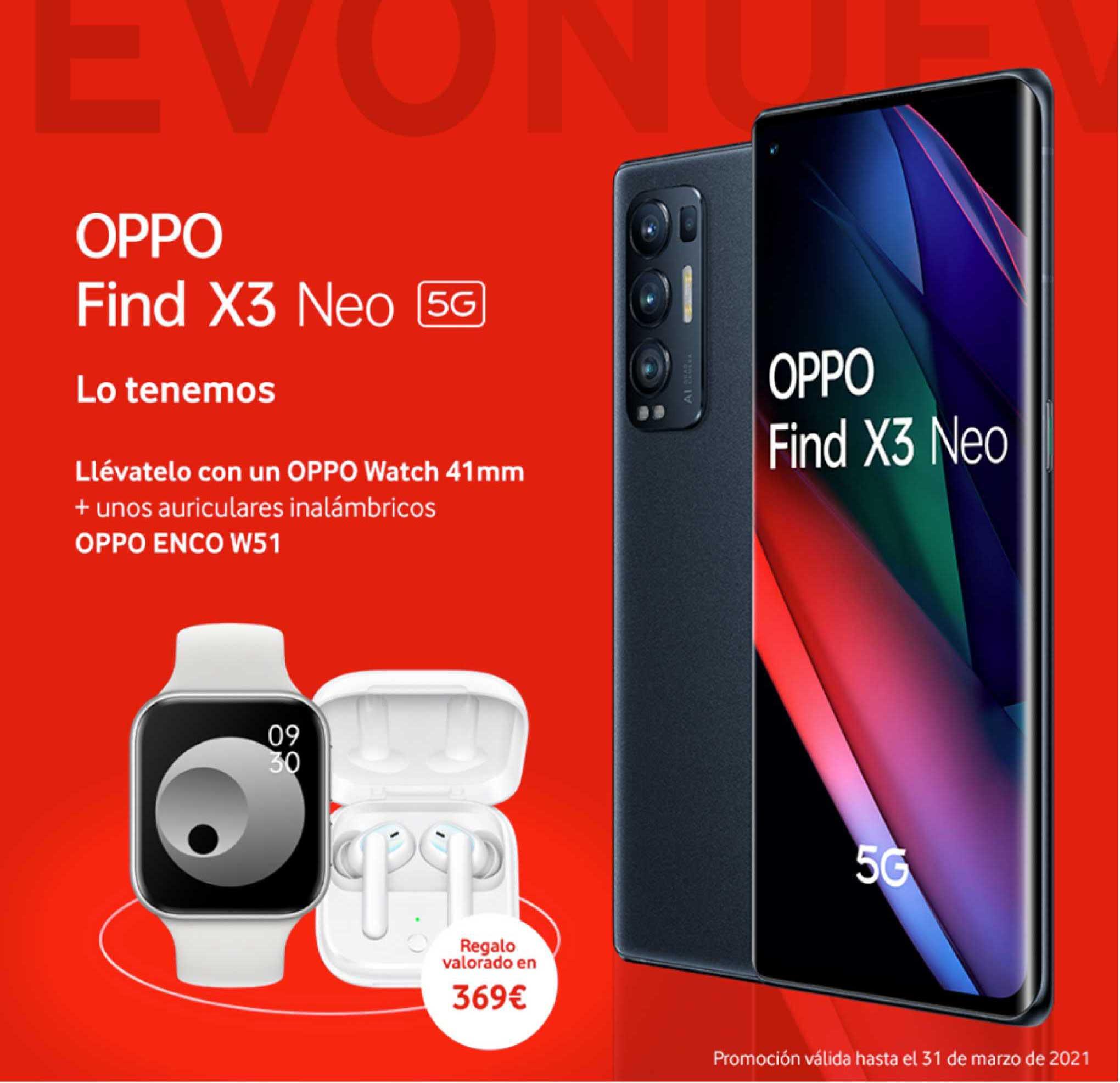 Vodafone Oppo Find X3 Neo