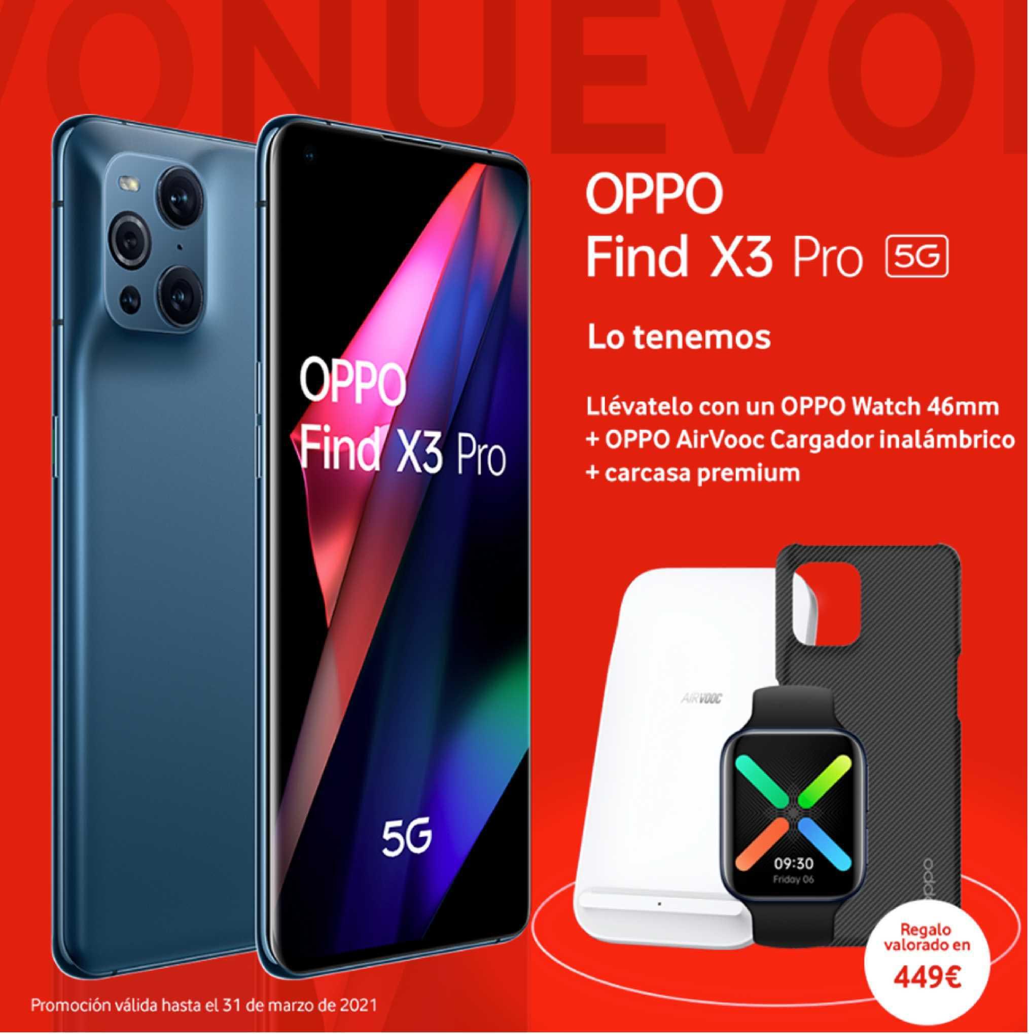 Vodafone Oppo Find X3 Pro
