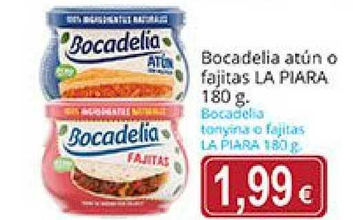 Supermercados Bip Bip Bocadelia Atún O Fajitas La Piara