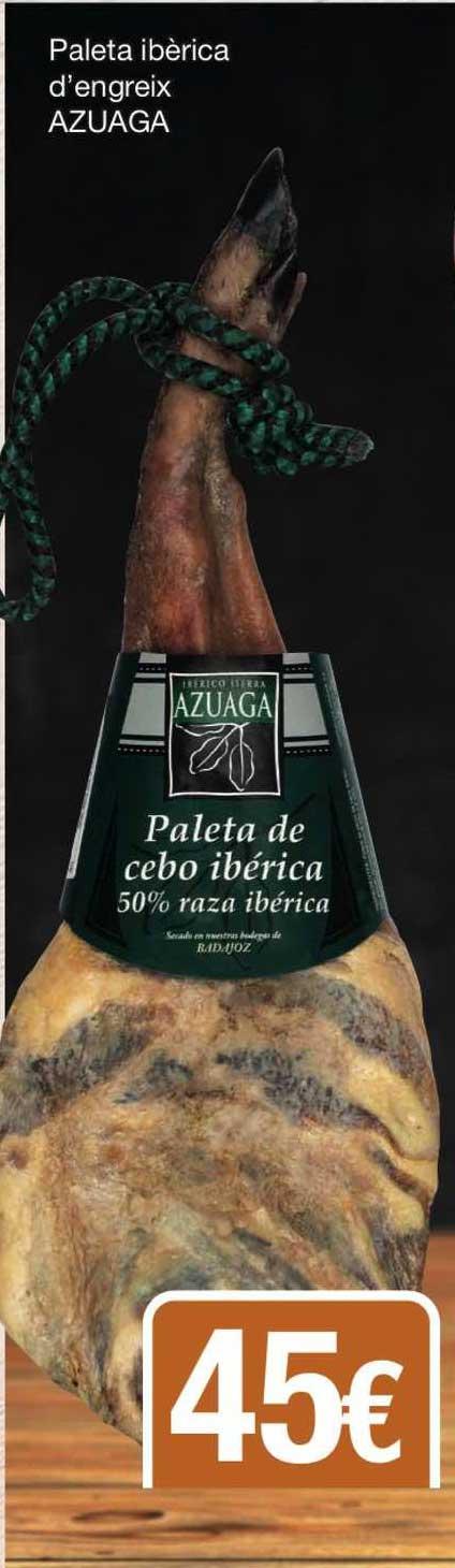 SPAR Fragadis Paleta Ibérica D'engreix Azuaga