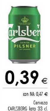 Cash Ifa Cerveza Carlsberg