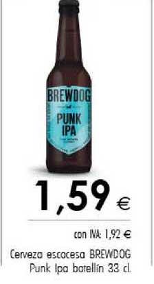 Cash Ifa Cerveza Escocesa Brewdog Punk Ipa