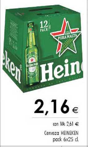 Cash Ifa Cerveza Heineken