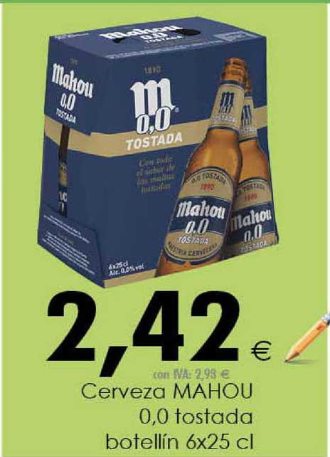 Cash Ifa Cerveza Mahou