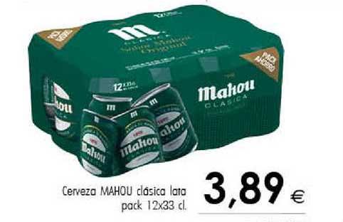 Cash Ifa Cerveza Mahou Clásica Lata