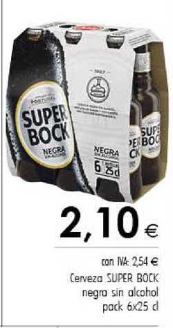 Cash Ifa Cerveza Super Bock Negra Sin Alcohol