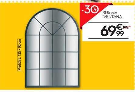 Conforama -30% Espejo Ventana