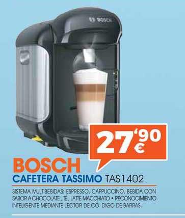 Expert Bosch Cafetera Tassimo TAS 1 402