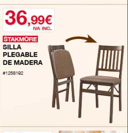Costco Stakmore Silla Plegable De Madera