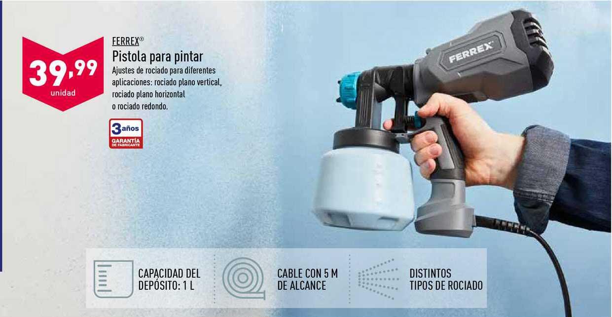ALDI Ferrex® Pistola Para Pintar