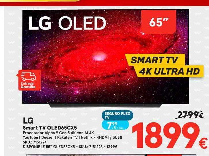 Worten Lg Smart Tv Oled65cx5