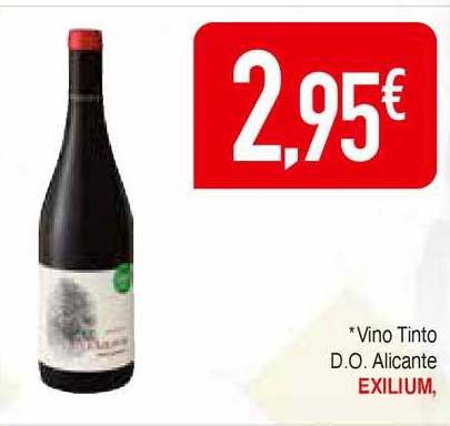 Masymas Vino Tinto D.o. Alicante Exilium