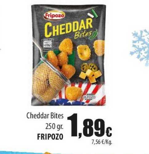 Spar Lanzarote Cheddar Bites Fripozo
