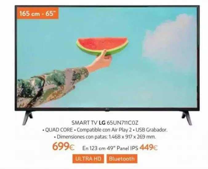 Tien 21 Smart Tv Lg 65un711coz