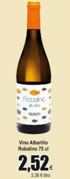 Froiz Vino Albariño Robalino 75 Cl