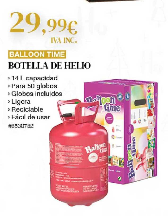 Costco Balloon Time Botella De Helio