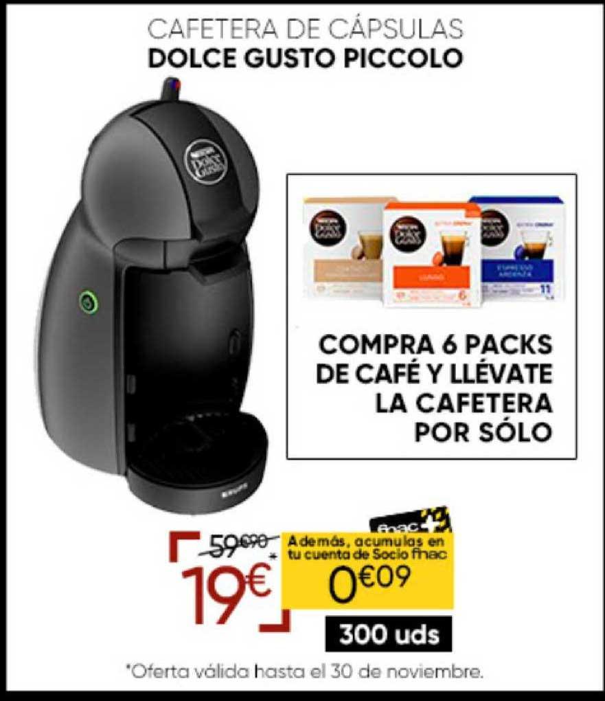 Fnac Cafetera De Cápsulas Dolce Gusto Piccolo