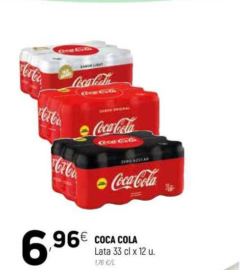 Coviran Coca Cola Lata 33 Cl X 12 U