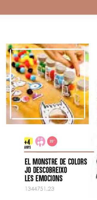 Abacus El Monstre De Colors Jo Descobreixo Les Emocions