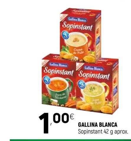 Coviran Gallina Blanca Sopinstant 42 G Aprox.