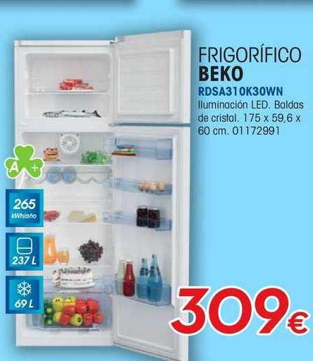 Master Cadena Frigorífico Beko RDSA310K30WN