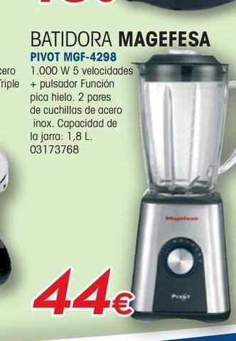 Master Cadena Batidora Magefesa Pivot MGF-4298