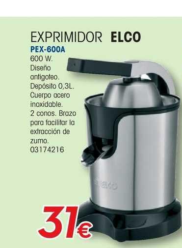 Master Cadena Exprimidor Elco PEX-600A