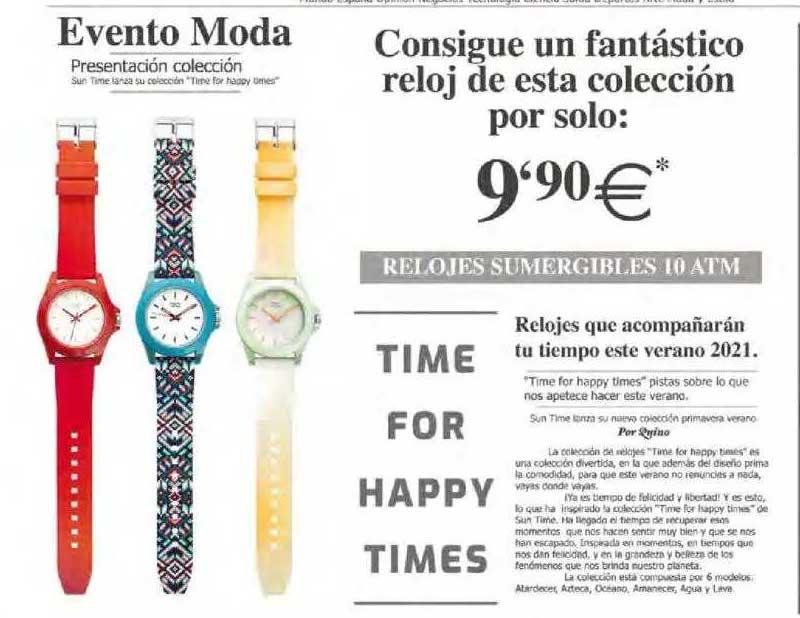 Hipercor Consigue Un Fantástico Reloj De Esta Colección Por Solo