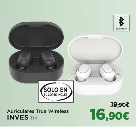 El Corte Inglés Auriculares True Wireless Inves T14
