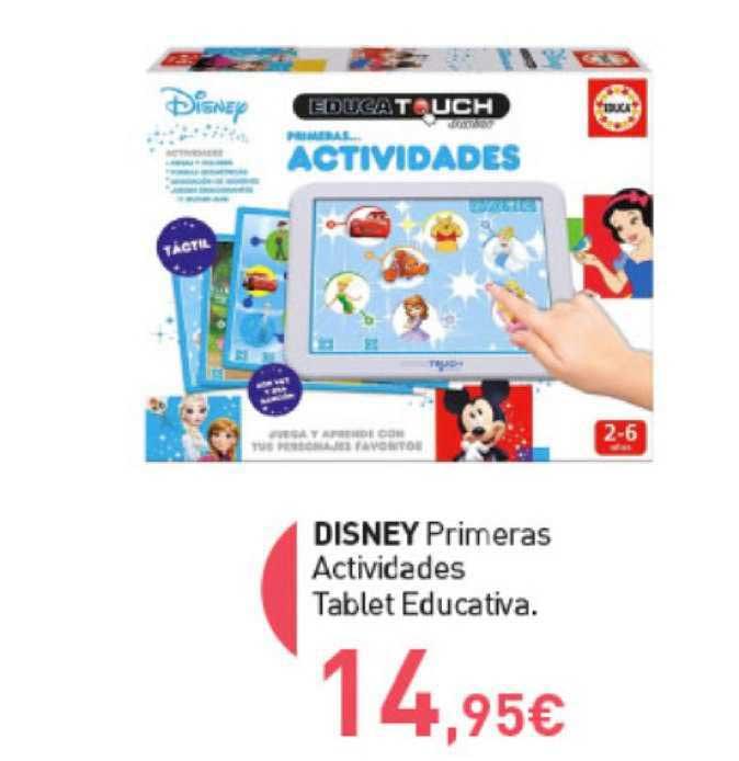 Primaprix Disney Primeras Actividades Tablet Educativa