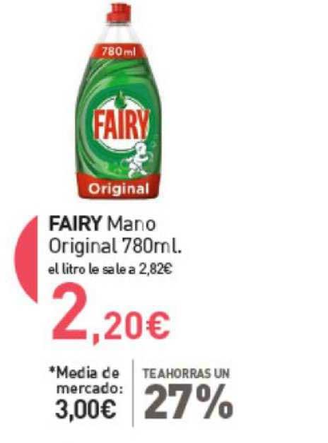 Primaprix Te Ahorras Un 27% Fairy Mano Original 780ml