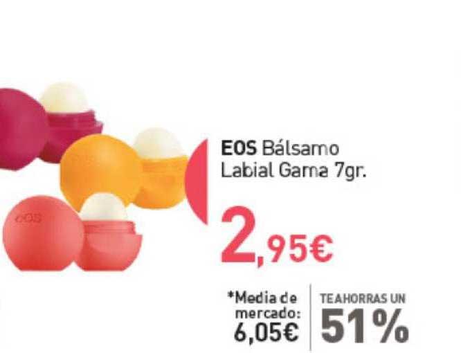 Primaprix Te Ahorras Un 51% Eos Bálsamo Labial Gama 7gr.