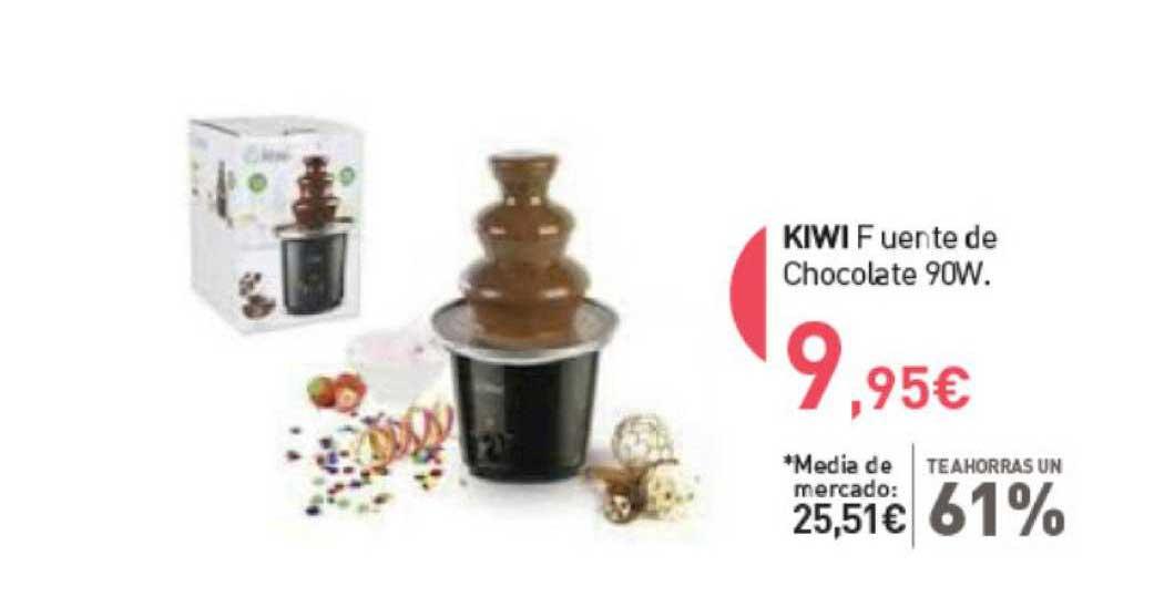 Primaprix Te Ahorras Un 61% Kiwi Fuente De Chocolate 90w