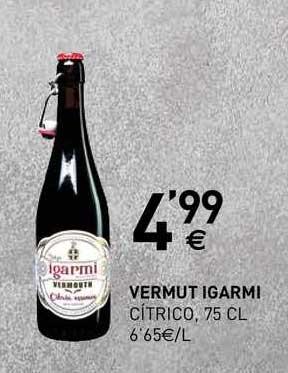 BM Supermercados Vermut Igarmi Cítrico