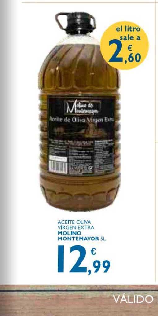 Supermercados La Despensa Aceite Oliva Virgen Extra Molino Montemayor 5 L
