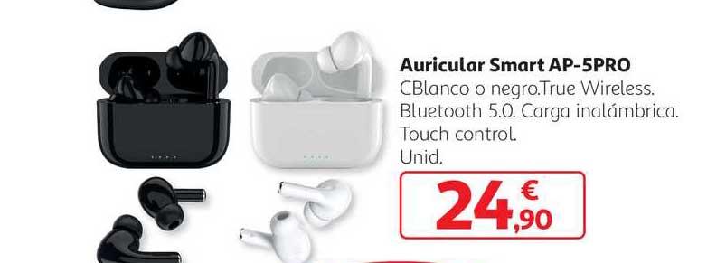 Alcampo Auricular Smart Ap 5pro