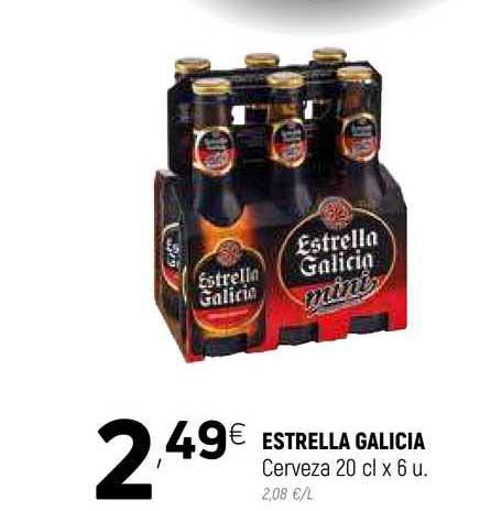 Coviran Estrella Galicia Cerveza